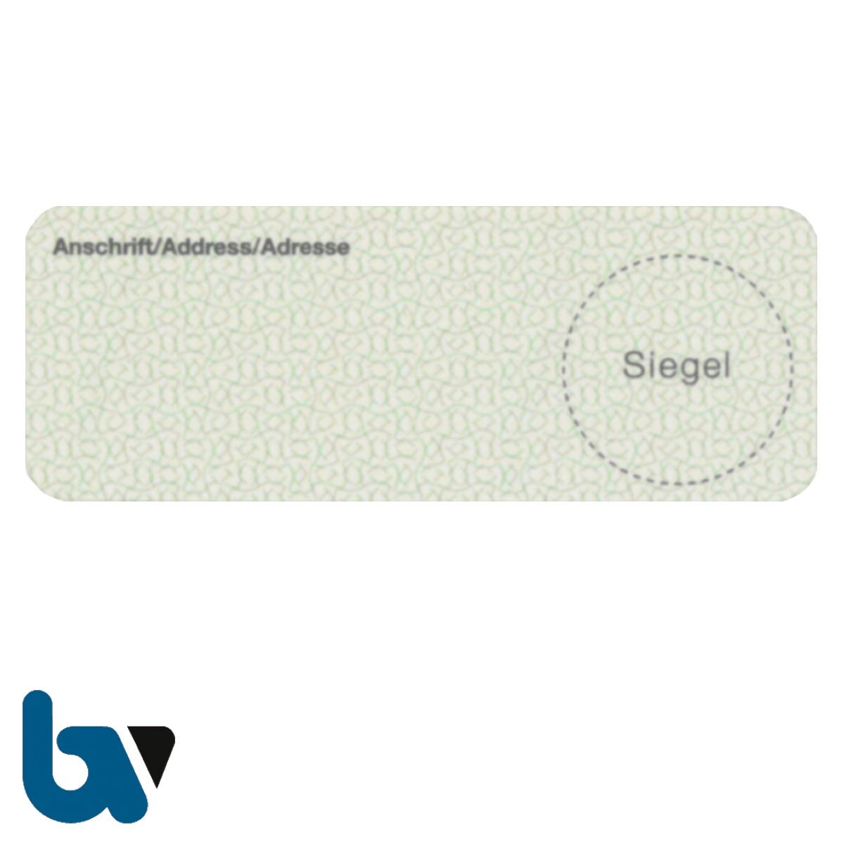 0/519-15.1 Adressaufkleber für Anschriftenänderungen   Borgard Verlag GmbH