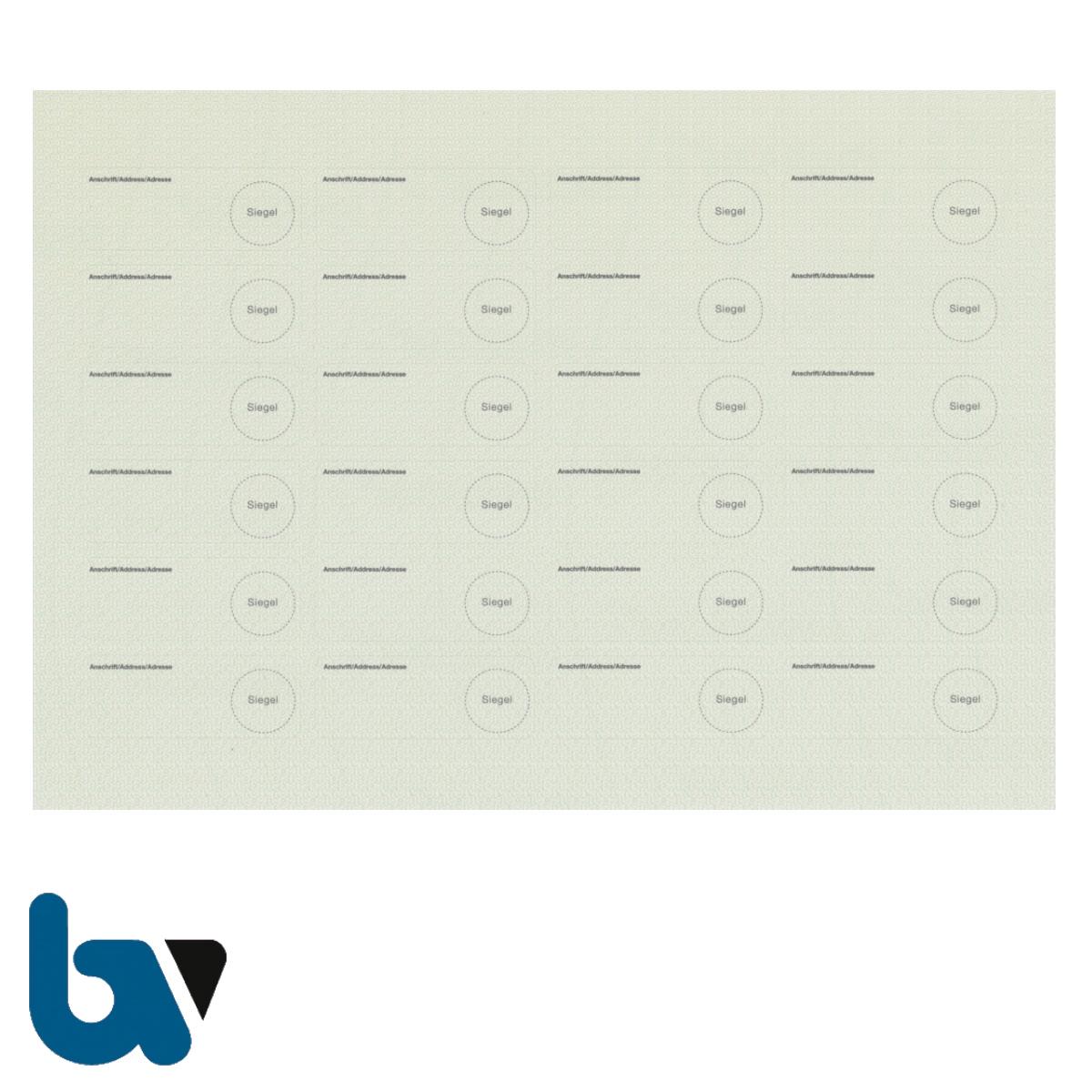 0/519-15.1 Adressaufkleber für Anschriftenänderungen Bogen 24 Stück | Borgard Verlag GmbH