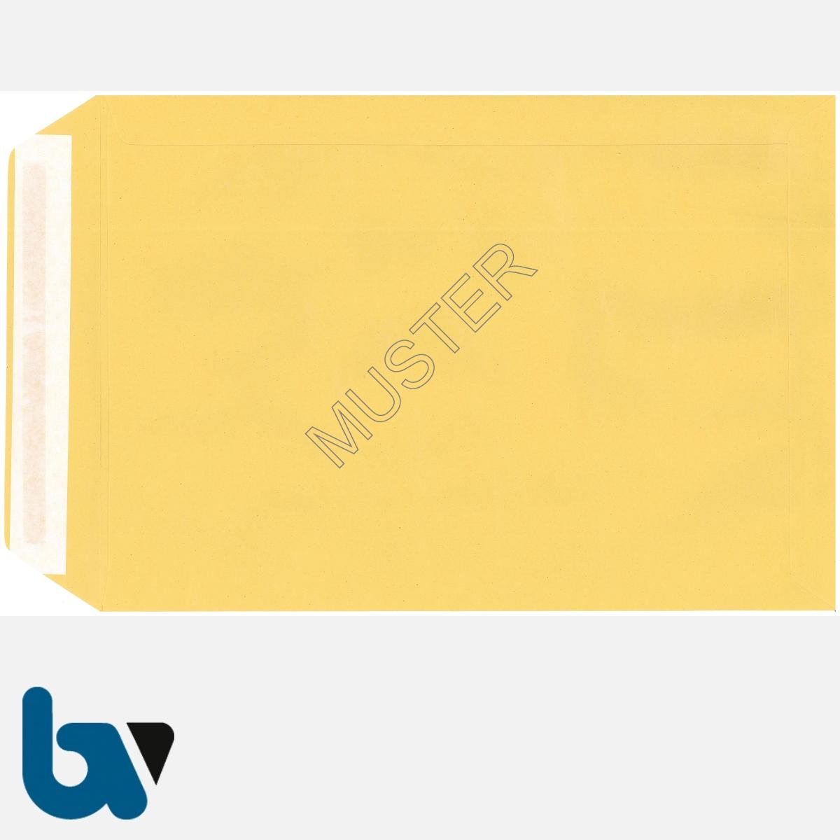 0/101-4 Förmliche Zustellung - Innerer Umschlag, DIN C4, ohne Fenster, haftklebend, Rückseite | Borgard Verlag GmbH