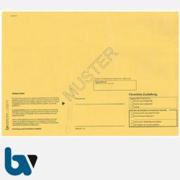 0/101-4 Förmliche Zustellung - Innerer Umschlag, DIN C4, ohne Fenster, haftklebend, Vorderseite | Borgard Verlag GmbH