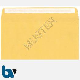 0/102-1 Postzustellungsauftrag - Äußerer Umschlag, DIN lang, mit Fenster, haftklebend, Rückseite | Borgard Verlag GmbH