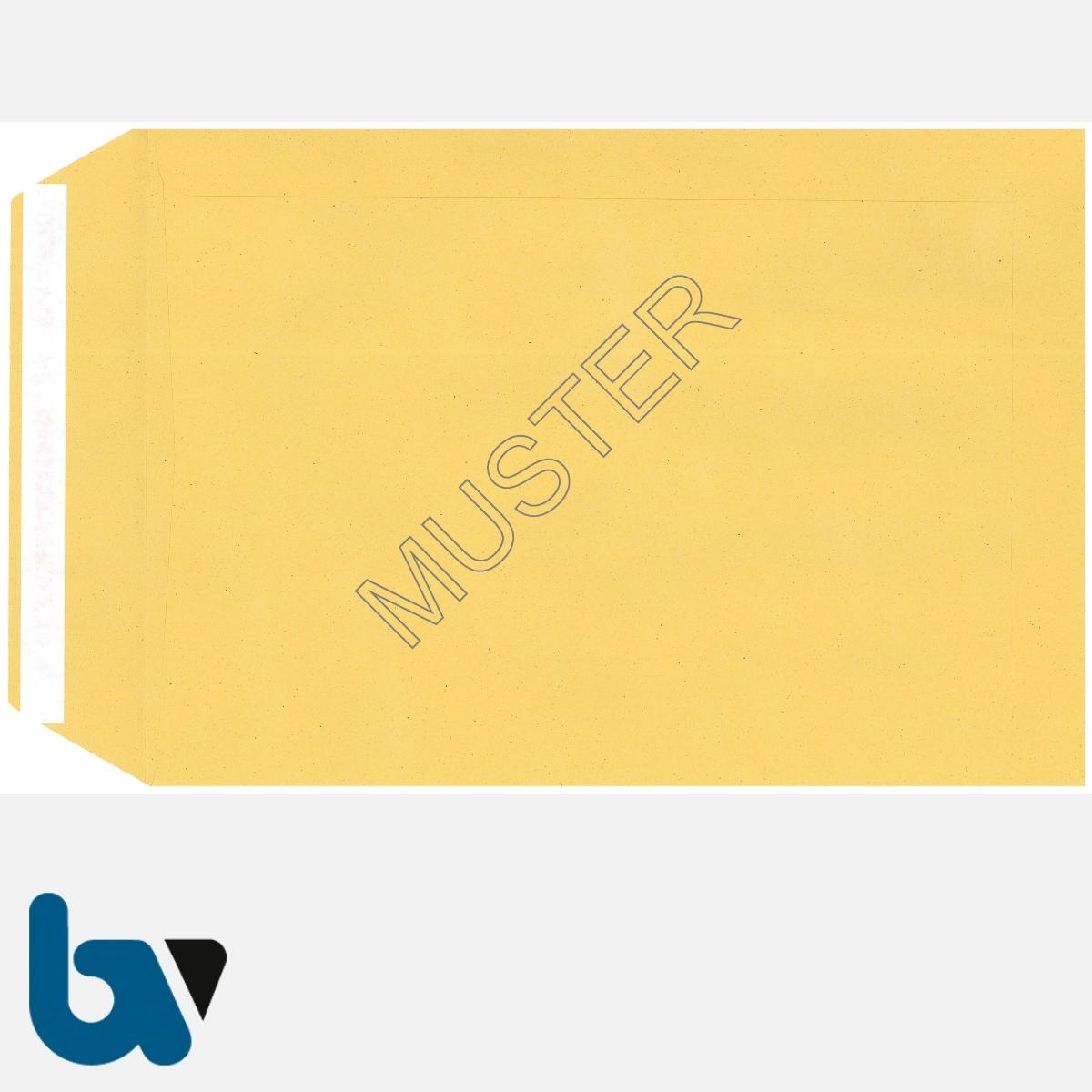 0/102-2 Postzustellungsauftrag - Äußerer Umschlag, DIN B5, ohne Fenster, haftklebend, Rückseite | Borgard Verlag GmbH