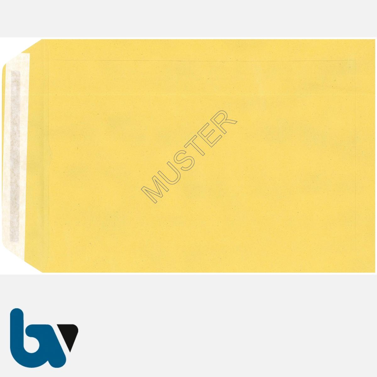 0/102-3 Postzustellungsauftrag - Äußerer Umschlag, DIN B4, ohne Fenster, haftklebend, Rückseite | Borgard Verlag GmbH