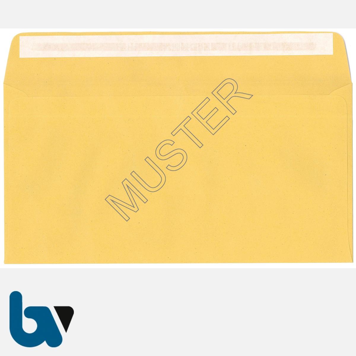 0/102-5 Postzustellungsauftrag - Äußerer Umschlag, DIN lang, ohne Fenster, haftklebend, Rückseite | Borgard Verlag GmbH