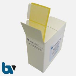 0/519-11 Bildklebefolie Spenderbox permanent Antragsverfahren Personalausweis | Borgard Verlag GmbH