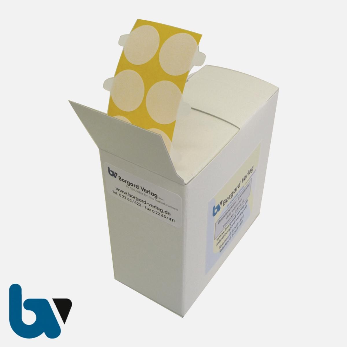 0/519-12 Bildklebefolie Spenderbox ablösbar Antragsverfahren Personalausweis | Borgard Verlag GmbH