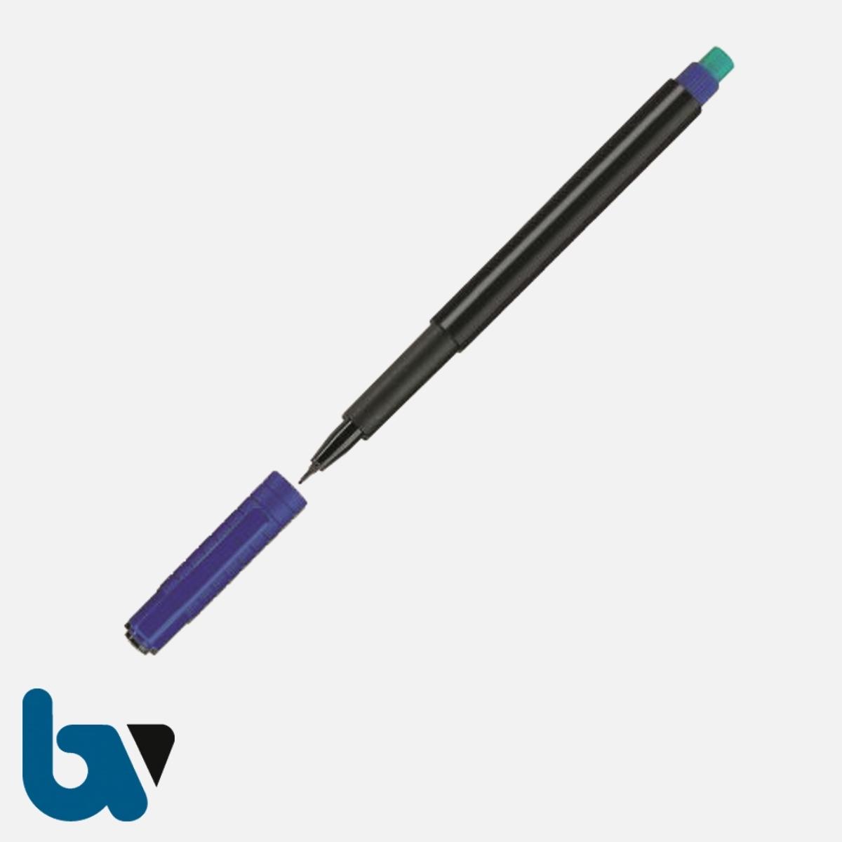 0/519-23.1 Dokumentenstifte dokumentenecht 0,4 mm blau   Borgard Verlag GmbH
