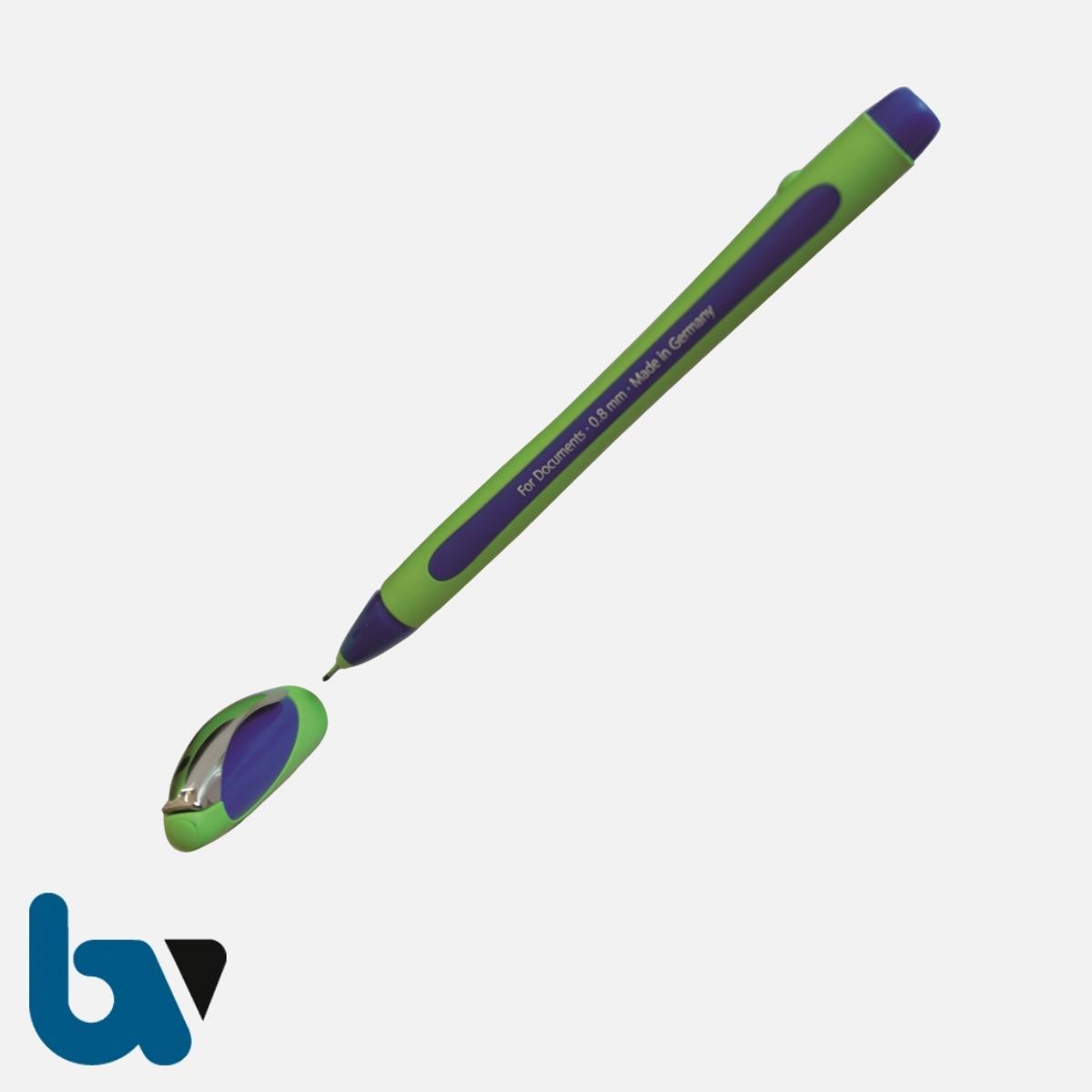 0/519-29 B Dokumentenstift Premium-Fineliner blau dokumentenecht | Borgard Verlag GmbH