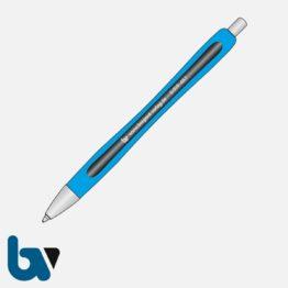 0/519-45.1 Kugelschreiber Slider Rave blau dokumentenecht 1 | Borgard Verlag GmbH