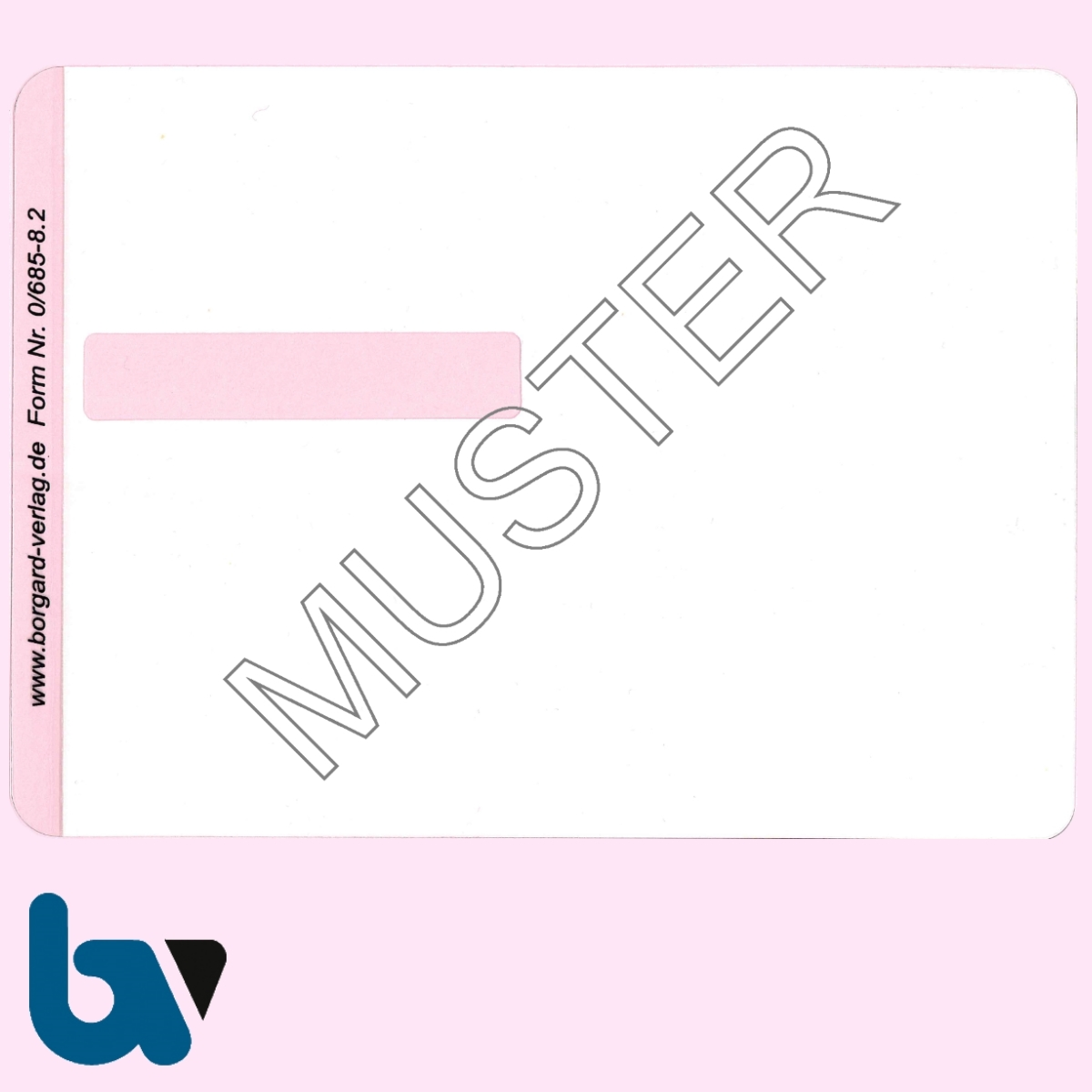 0/685-8.2 Klebefolie zur Plastifizierung mit Unterschriftfeld Parkausweis EU europäisch blau Modell behinderte Menschen leicht VS