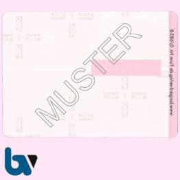 0/685-8 Klebefolie zur Plastifizierung mit Unterschriftfeld Parkausweis EU europäisch blau Modell behinderte-Menschen RS | Borgard Verlag GmbH