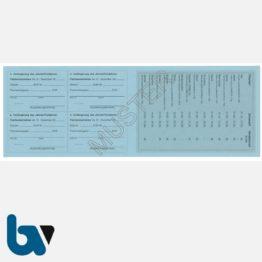 3/456-1 Jahresfischereischein Fünfjahresfischereischein Hessen blau Neobond Muster RS | Borgard Verlag GmbH