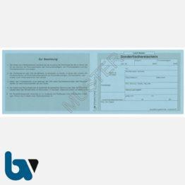3/456-4 Sonderfischereischein Hessen blau Neobond Muster VS | Borgard Verlag GmbH