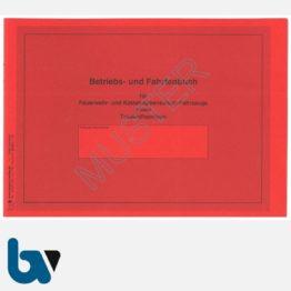 0/112-1 Fahrtenbuch Betriebsbuch Feuerwehr Katastrophenschutz Fahrzeuge Verwaltung Behörde DIN A5 Seite 1   Borgard Verlag GmbH