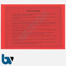 0/112-1 Fahrtenbuch Betriebsbuch Feuerwehr Katastrophenschutz Fahrzeuge Verwaltung Behörde DIN A5 Seite 2   Borgard Verlag GmbH