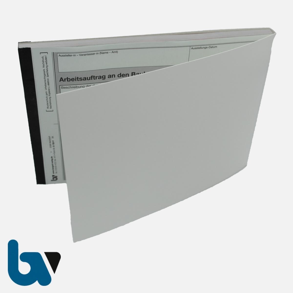 0/122-9 Arbeitsauftrag Bauhof selbstdurchschreibend Einschlagdeckel DIN A5 3-fach VS | Borgard Verlag GmbH