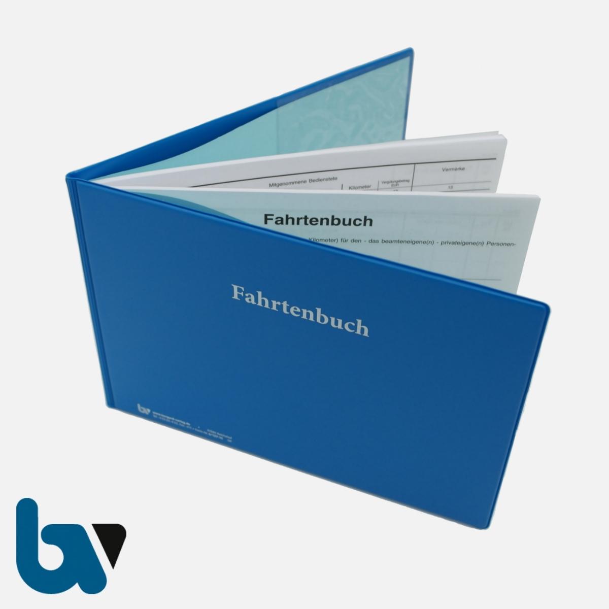 0/137-10 Schutzhülle Fahrtenbuch Kunststoff außen Einsatz Einstecklasche Verwaltung Behörde DIN A5 Seite 3 | Borgard Verlag GmbH