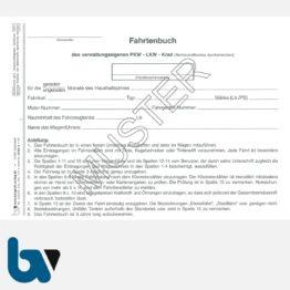 0/137-4 Fahrtenbuch verwaltungseigene Fahrzeug Lkw Kraftrad Dienstreise dienstlich Verwaltung Behörde DIN A5 Seite 2   Borgard Verlag GmbH