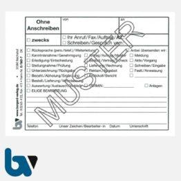 0/160-7 Ohne Anschreiben Umlaufzettel Haftnotiz Post it 20 Kästchen selbstklebend DIN A7 VS | Borgard Verlag GmbH
