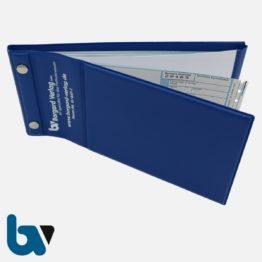 0/441-1 Schutzmappe Verwarnung Empfangsbescheinigung Datenermittlung Kunststoff Druckknopf Lochung Trennblatt 2 | Borgard Verlag GmbH