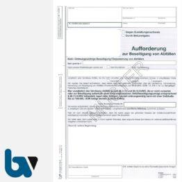 0/442-5 Aufforderung Beseitigung Abfälle Kreislaufwirtschaftsgesetz KrWG DIN A4 3-fach | Borgard Verlag GmbH