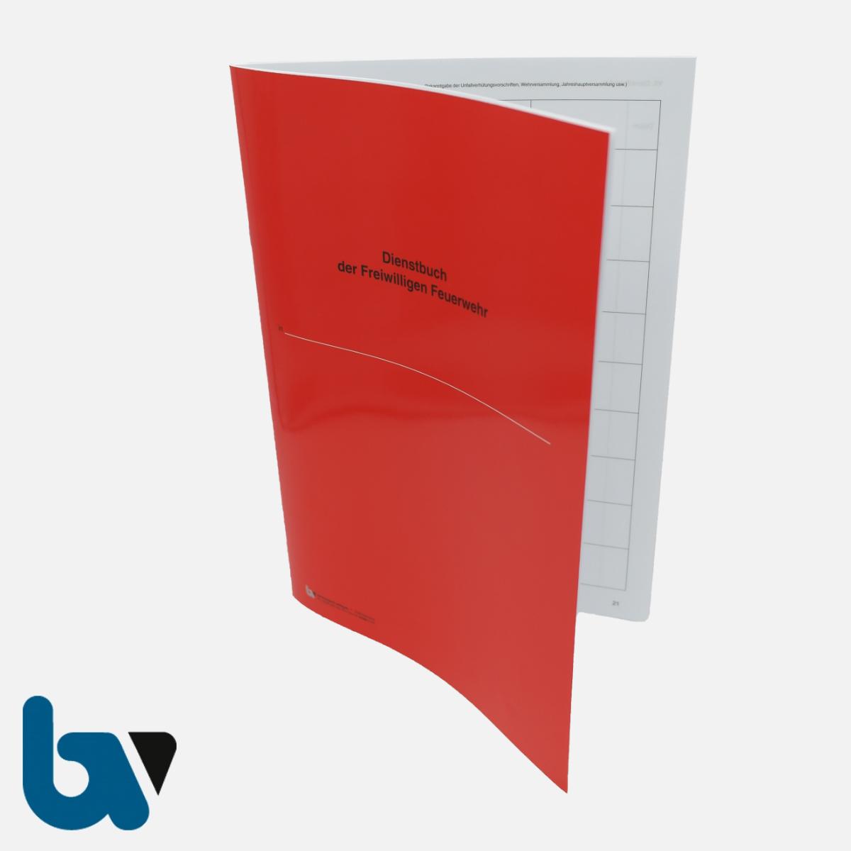 0/468-1 Dienstbuch Freiwillige Feuerwehr Bericht rot Umschlag wetterfest beschichtet 40 Seiten DIN A4 VS | Borgard Verlag GmbH