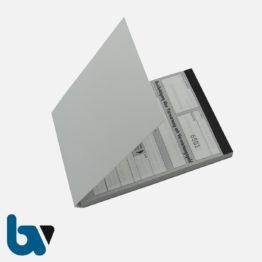 0/492-7 Bescheinigung Verwarnung fortlaufend Nummer selbstdurchschreibend Durchschreibeschutz DIN A6 VS | Borgard Verlag GmbH