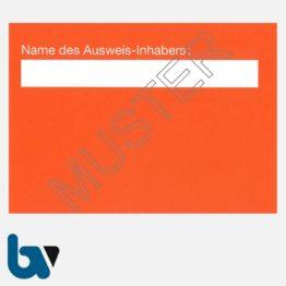 0/498-12 Handwerkerparkausweis orange DIN A6 Karton RS | Borgard Verlag GmbH