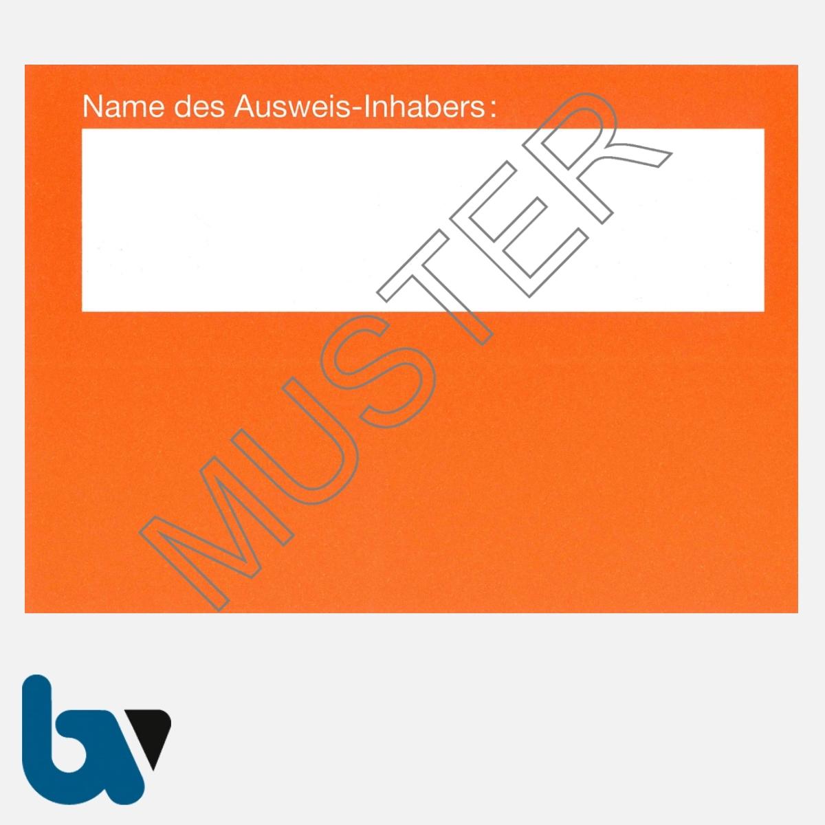 0/498-6 Ausnahmegenehmigung 46 Straßenverkehrsordnung StVO Befahren öffentliche Straßen Beschränkung Verbote orange DIN A6 Karton RS | Borgard Verlag GmbH
