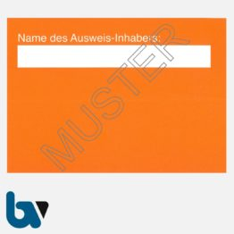 0/498-9 Parkausweis sozialer Dienst orange DIN A6 Karton RS | Borgard Verlag GmbH