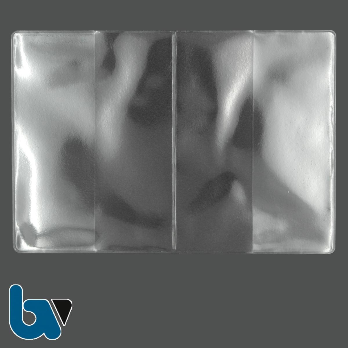 0-519-37 Schutzhülle Sichthülle Doppelhülle elektronisch Reisepass Einstecklasche Dokument Ausweis | Borgard Verlag GmbH