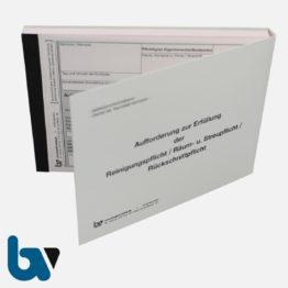 0/751-3.1 Aufforderung Erfüllung Reinigungspflicht Räumpflicht Rückschnittpflicht Gehweg Fahrbahn selbstdurchschreibend DIN A6 2fach VS | Borgard Verlag GmbH