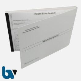 0/751-4.1 Räumbericht Streubericht Bezirk selbstdurchschreibend DIN A5 VS | Borgard Verlag GmbH