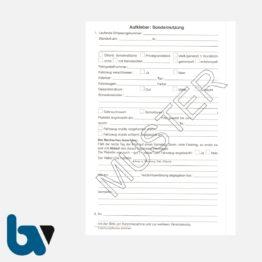 2/442-3 Aufkleber Aufforderung Entfernung Fahrzeug Anhänger selbstklebend Rheinland-Pfalz Landesstraßengesetz Aufnahmeprotokoll Abfall DIN A5 RS | Borgard Verlag GmbH