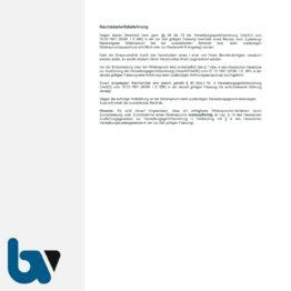 3/442-2 Aufforderung Verfügung Entfernung Fahrzeug Straßenverkehrsordnung StVO Straßengesetz HStrG HSOG Hessen selbstdurchschreibend DIN A4 3-fach RS | Borgard Verlag GmbH