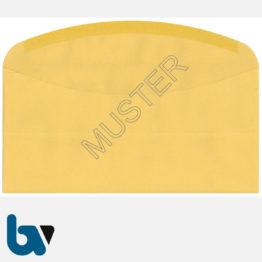 0/102-1.2 Postzustellungsauftrag Variante äußerer Umschlag DIN lang mit Fenster nassklebend Rückseite | Borgard Verlag GmbH