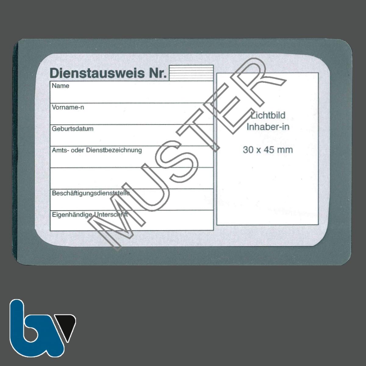 0/481-1.1 Laminierfolie Dienstausweis Scheckkartenformat mit Dienstausweis 0/481-1 | Borgard Verlag GmbH