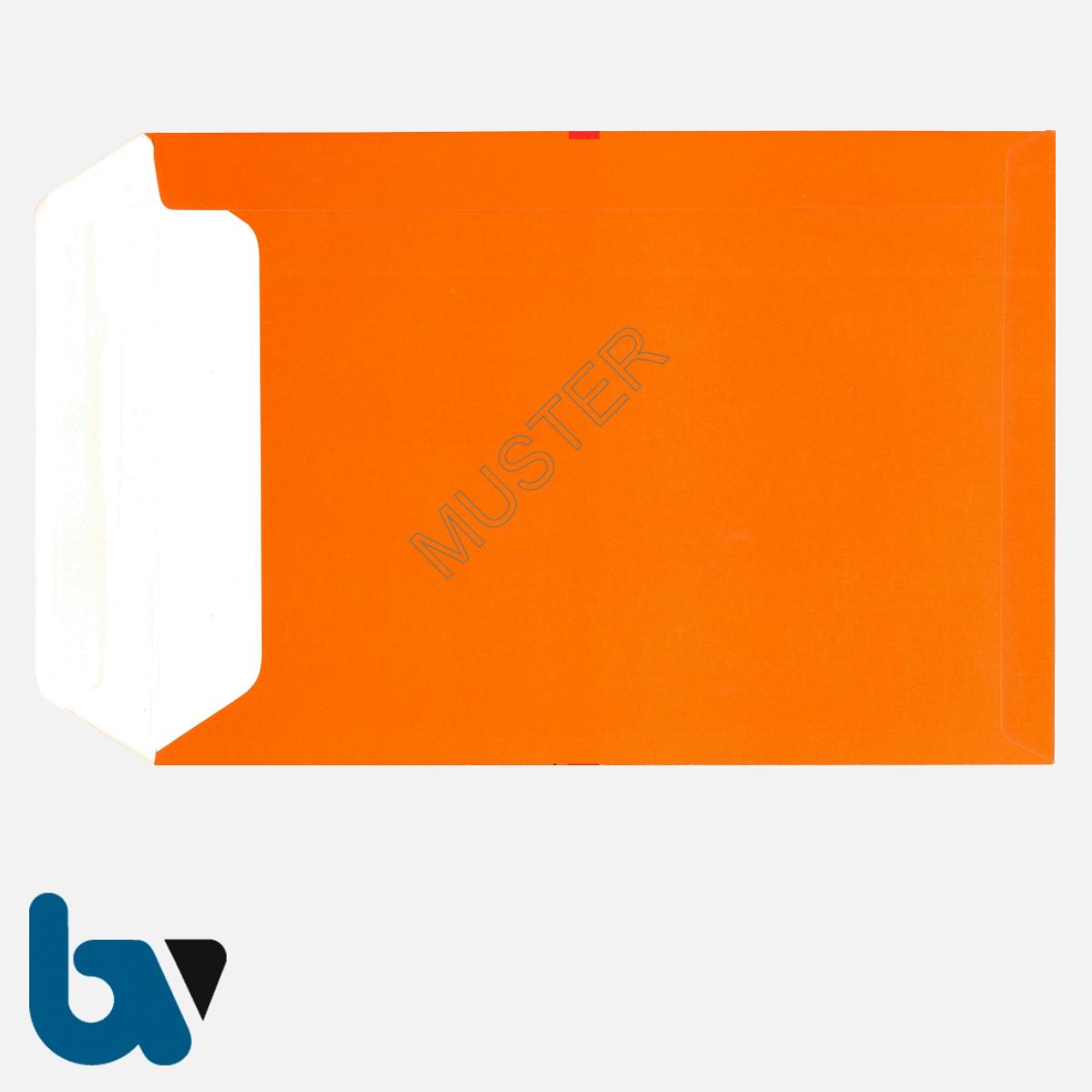 0/747-7a Angebotsumschlag Angebotskopie Ausschreibung rot Haftklebung haftklebend Sicherheitsverschluss DIN B4 Rückseite | Borgard Verlag GmbH