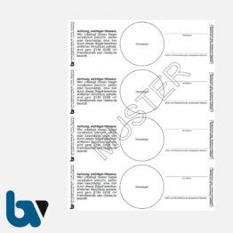 0/191-4 Verschlusssiegel Dokumentenfolie Dokumentensiegel Paragraph 136 StGB Siegelbruch Verstrickungsbruch Manipulation Sicher 148 48 mm Blatt 4 Stück | Borgard Verlag GmbH