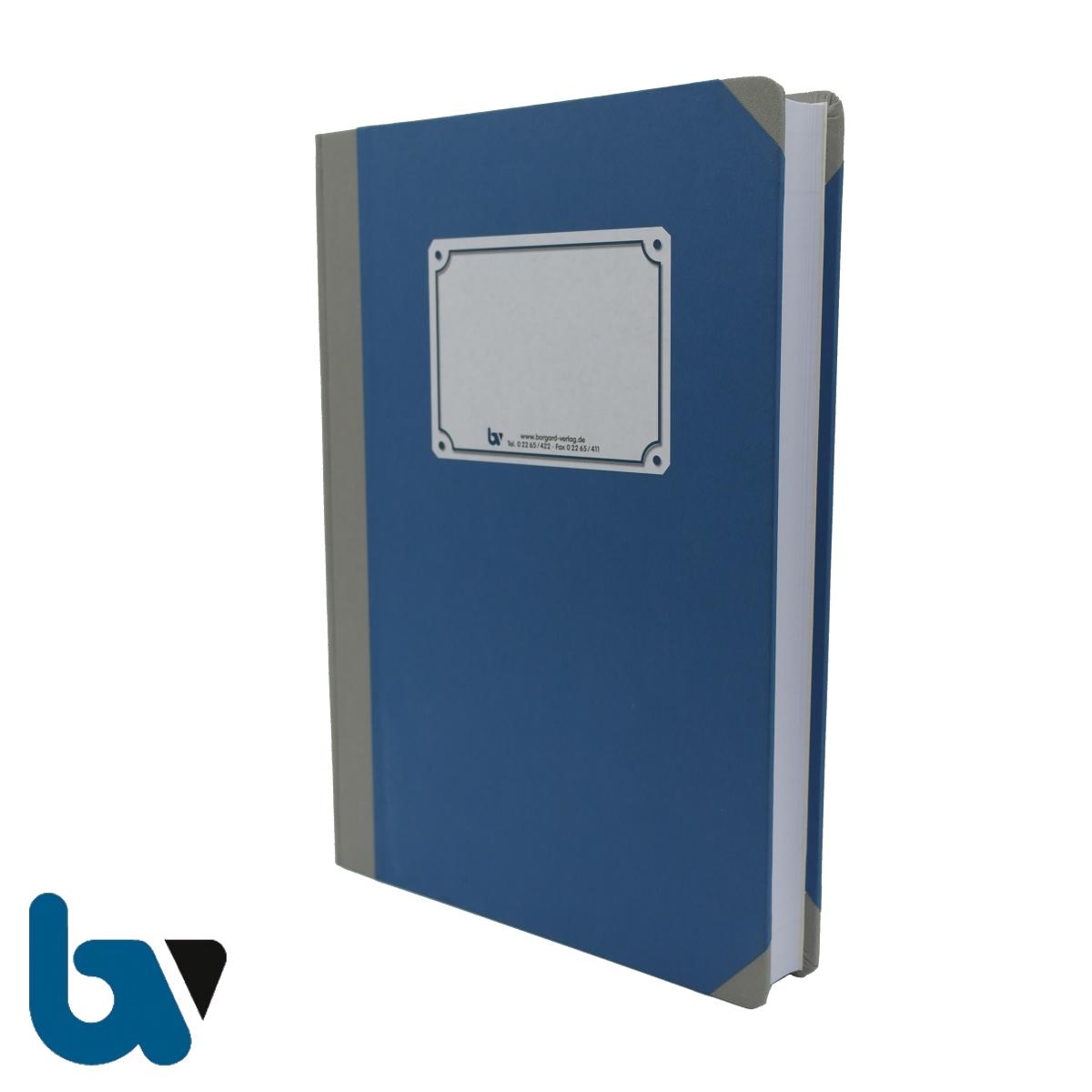0/457-2 Verzeichnis Ausgestellte Fischereischeine Buch gebunden Leinen Außen 3 | Borgard Verlag GmbH