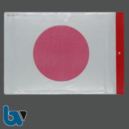0/780-3 Schutzhülle Baustellenschild roter Punkt aufgedruckt Bauordnung Kunststoff wetterfest Loch Befestigung DIN A4 Vorderseite | Borgard Verlag GmbH
