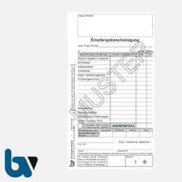 0/812-1 Quittung Empfangsbescheinigung Vollstreckung Vollziehung Beamte Forderung selbstdurchschreibend 2-fach Schreibschutzdeckel Nummerierung 1-50 DIN lang S 1 | Borgard Verlag GmbH