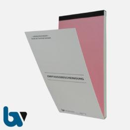 0/812-3 Quittung Empfangsbescheinigung Kasse Forderung selbstdurchschreibend 2-fach Schreibschutzdeckel Nummerierung fortlaufend DIN lang Vorderseite | Borgard Verlag GmbH