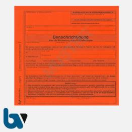 0/842-9 Benachrichtigung Blockierung Kraftfahrzeug Parkkralle Ventilwächter Kfz Vollstreckung Pfändung rot DIN | Borgard Verlag GmbH