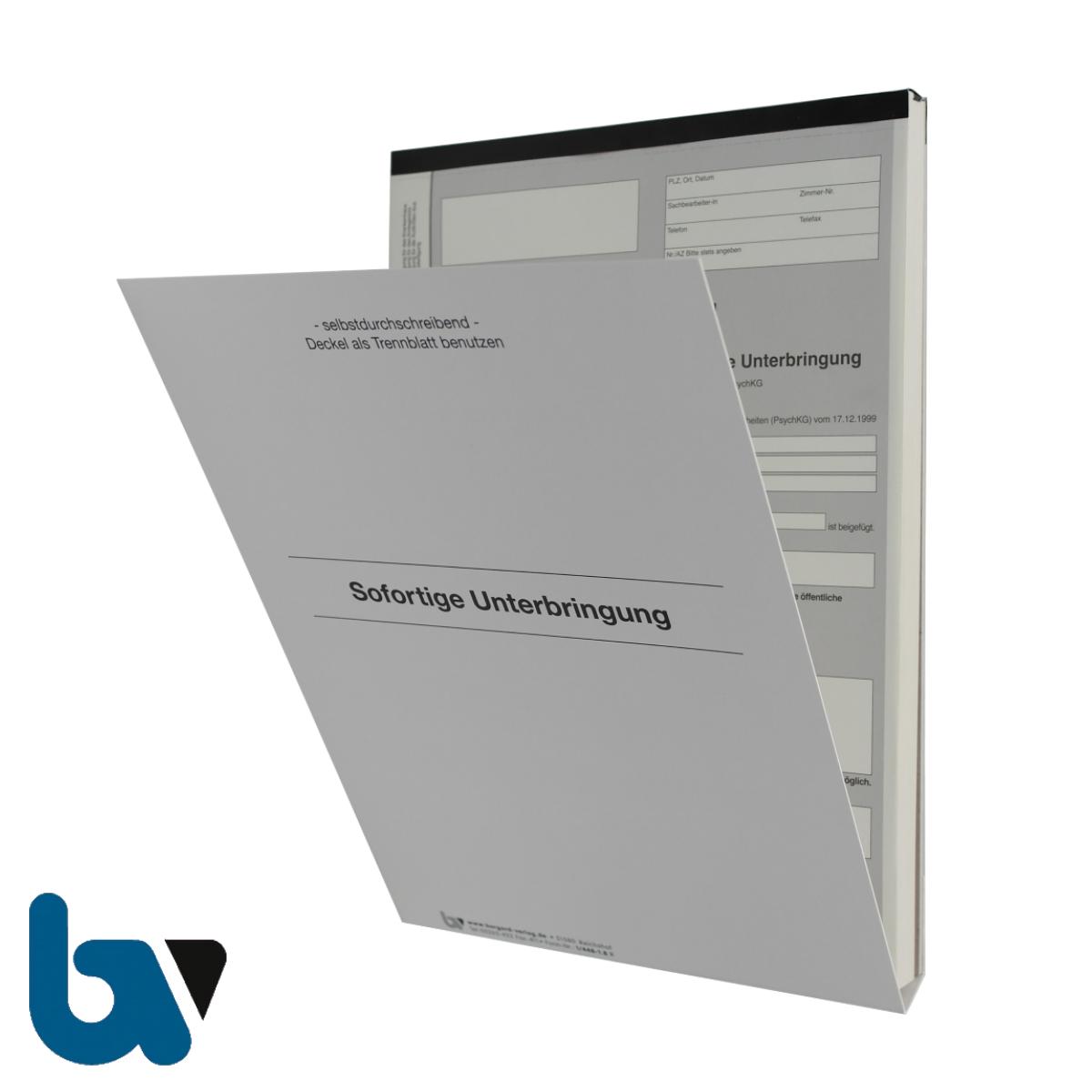 1/448-1.8 Sofortige Unterbringung Krankenhaus Paragraph 14 PsychKG NRW 4-fach selbstdurchschreibend DIN A4 Außen | Borgard Verlag GmbH