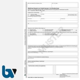 1/448-14 Ärztliches Zeugnis Unterbringung Krankenhaus Paragraph 12 PsychKG NRW 4-fach selbstdurchschreibend DIN A4 | Borgard Verlag GmbH