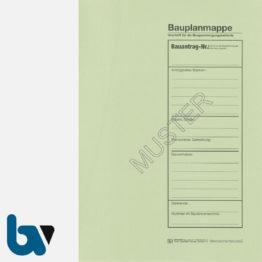 12/710-3 Bauplanmappe Ausfertigung Urschrift Genehmigungsbehörde Karton grün Einschlagdeckel Dokumentenschutz Verwahrung Archivierung DIN C4 Seite 1 | Borgard Verlag GmbH