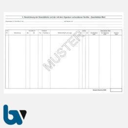 3/186-3 Schätzungsurkunde Ortsgericht Hessen Grundstück Gebäude mit Durchschrift Kopie weiß DIN A4 Seite 2 | Borgard Verlag GmbH