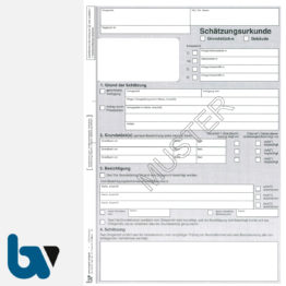 3/186-6a Schätzungsurkunde Ortsgericht Hessen Grundstück Gebäude Solo DIN A4 Seite 1 | Borgard Verlag GmbH