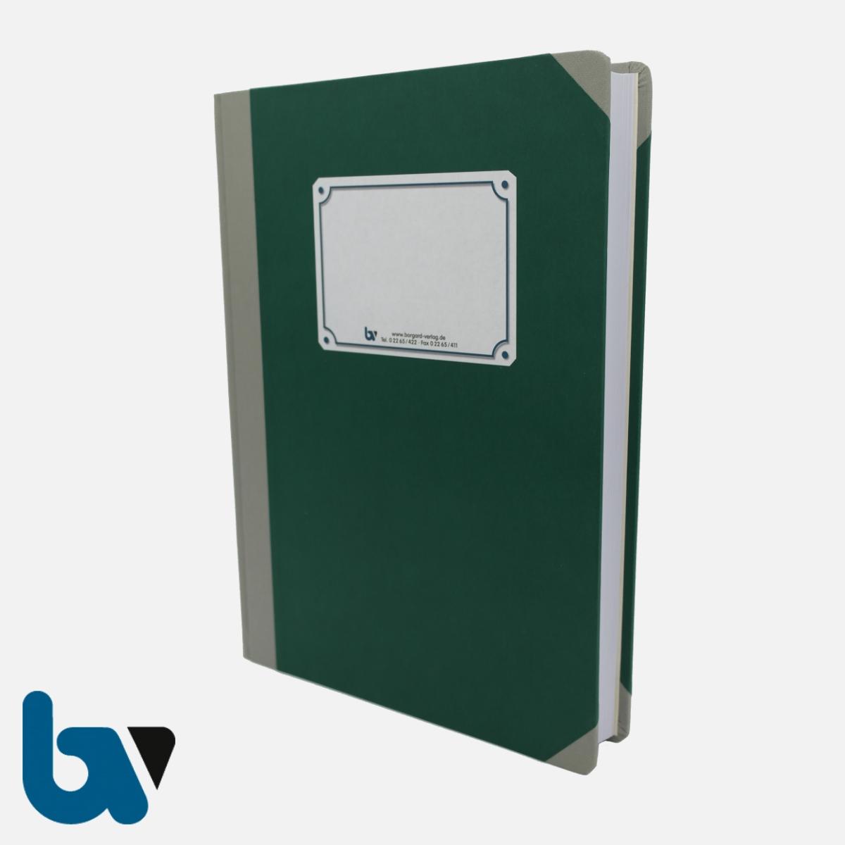 3/190-2 unlin Tagebuch Ortsgericht Hessen Buch gebunden unliniert Leinen DIN A4 Außen 1 | Borgard Verlag GmbH